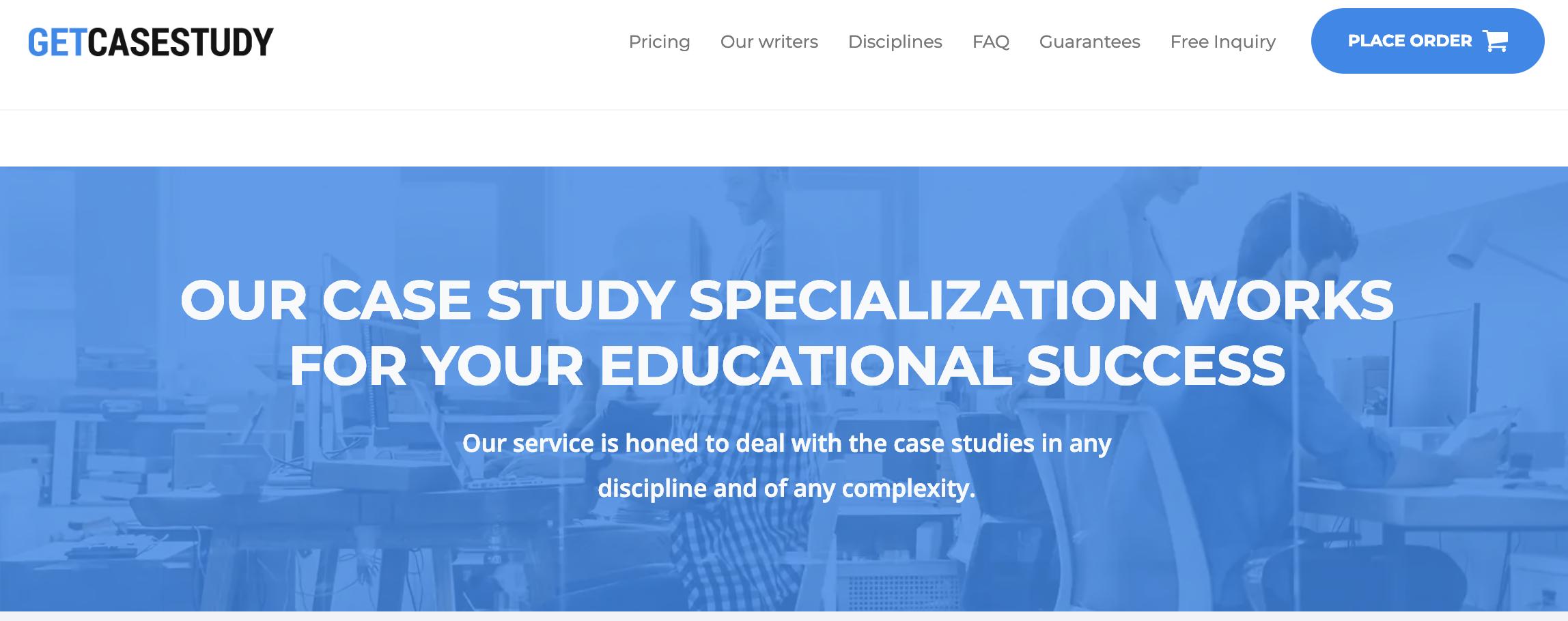 GetCaseStudy.com - Homepage