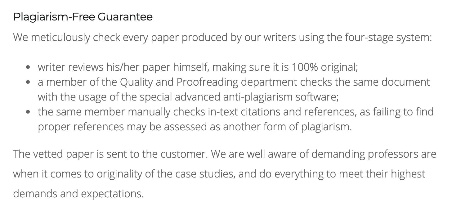GetCaseStudy.com - Plagiarism Free